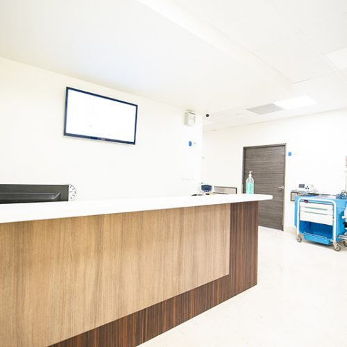 Second Floor Patient Reception