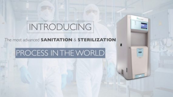 Proceso de esterilización y saneamiento